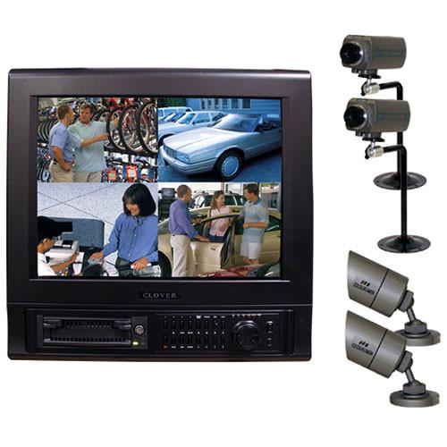 Clover Electronics C1704dvr Surveillance Package Kit C1704dvr