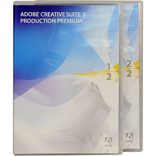 Adobe Upgrade to Production Premium CS3 for Windows (Jewel Case Package)