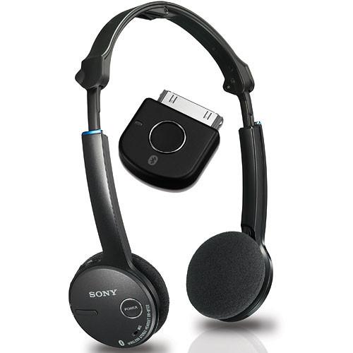 Black Sony Bluetooth Wireless Transmitter for iPod
