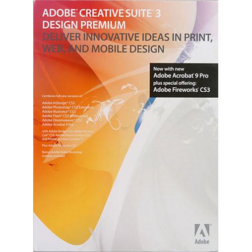 Adobe Design Premium Cs3 3 Software Suite For Windows 29500570