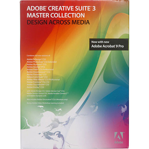 Adobe Creative Suite 3 Master Collection For Sale