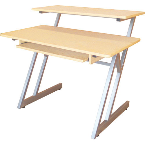 On Stage Ws7500 Studio Workstation Maple Wood With Grey Steel