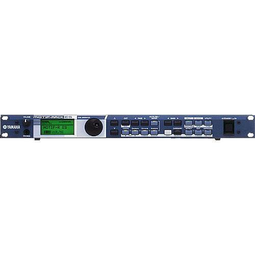 Yamaha MOTIF RACK ES - 128-Voice Polyphonic Rackmount Synth