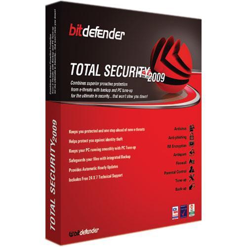 Bitdefender Total Security 2009 Software for Windows