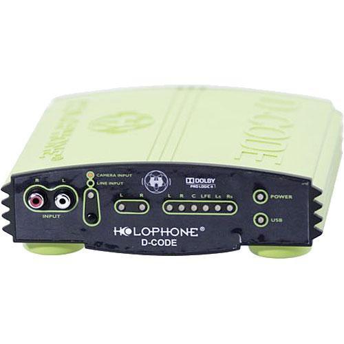 Holophone D-Code - Dolby ProLogic II Surround Sound Decoder - Analog & USB
