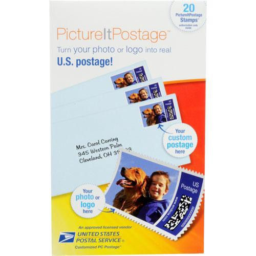 Endicia PictureItPostage Stamps (20 self-adhesive stamps)