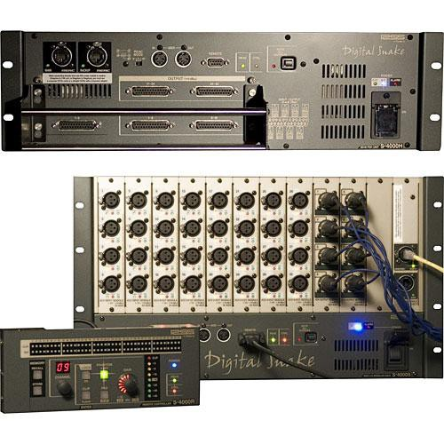 RSS by Roland S-4000 Modular - 32x8 Digital Snake System for FOH Sound  Reinforcement
