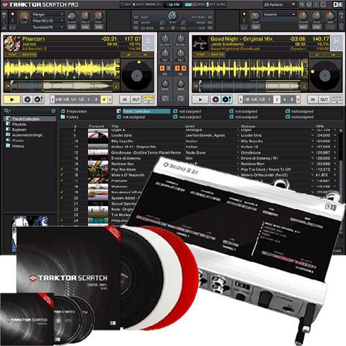 Native Instruments TRAKTOR SCRATCH DUO DJ Software//Hardware Package
