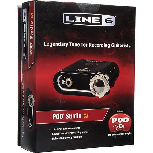 Line 6 POD Studio GX with POD Farm