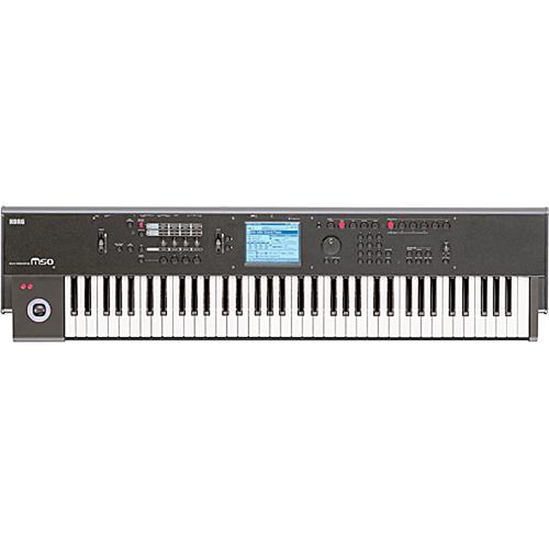Korg M50 73-Key Synthesizer Workstation