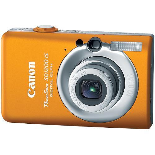 Canon Powershot Sd1200 Is Digital Camera Orange 3451b001 B H
