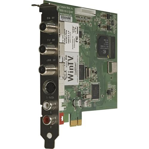 HAUPPAUGE WINTV HVR-1800 TV TUNER DRIVER FOR MAC