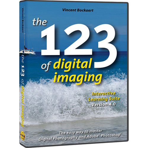 123di CD-Rom: The 123 of Digital Imaging Interactive Learning Suite