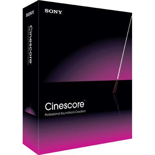 Low Cost Sony Cinescore Software