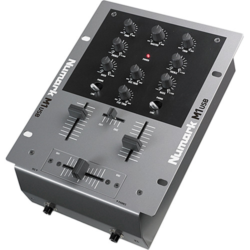 Numark M1USB 2-Channel Tabletop Scratch DJ Mixer with USB