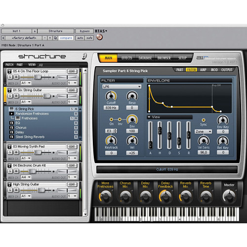 M-Audio Structure - Software Sampler for Pro Tools M-Powered