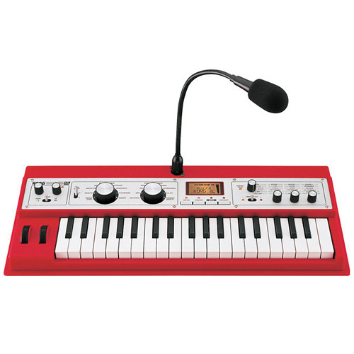 Korg microKORG XL 37-Key Synthesizer/Vocoder (Red)