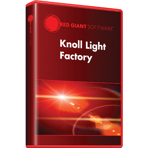 Red Giant Knoll Light Factory (Upgrade, Download)