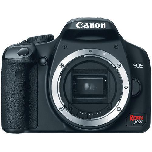 Canon EOS Rebel XSi Digital Camera (a k a  450D) (Black) (Camera Body)