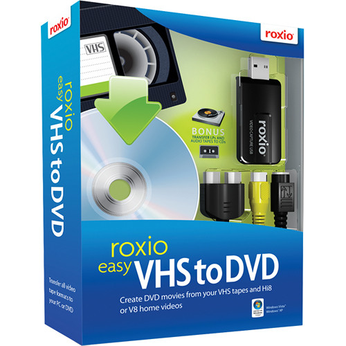 roxio easy vhs to dvd update