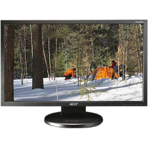 """Acer V243H 1920 x 1080 24/"""" WideScreen LCD Flat Panel Computer Monitor No Stand"""