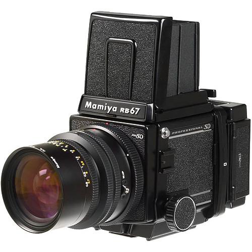 Mamiya RB67 Pro SD Medium Format SLR Camera Body with Folding Waist Level  Viewfinder
