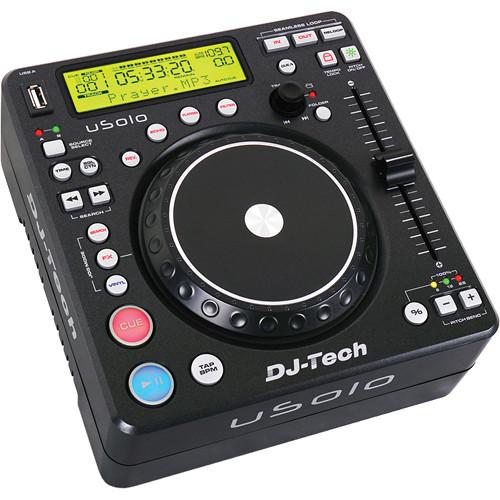 DJ-Tech uSolo Twin USB Media Player