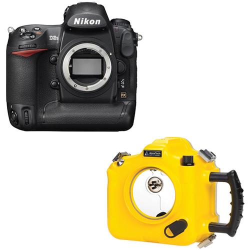 AquaTech NY-3S Sports Housing Kit with Nikon D3s Digital Camera