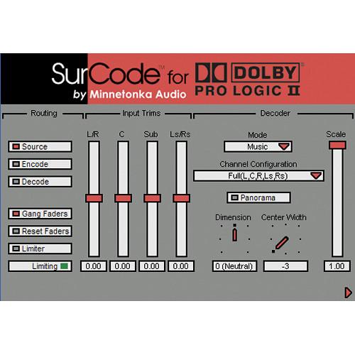 dolby pro logic ii decoder software mac