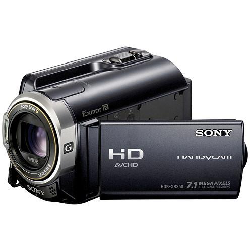 Sony HDR-XR350V Full HD Hard Disk Drive PAL Camcorder