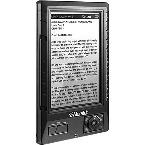 Aluratek Libre eBook Reader PRO (Black)