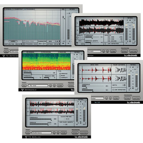 TC Electronic Restoration Suite 2 0 - Plug-In Suite for PowerCore