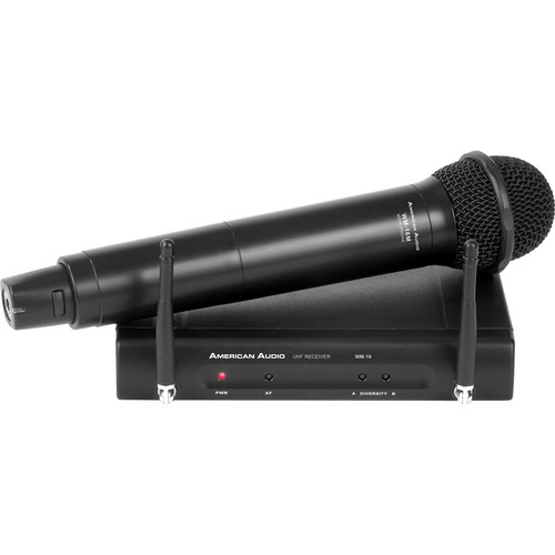 ADJ American Audio WM-16HH Wireless Handheld Microphone System