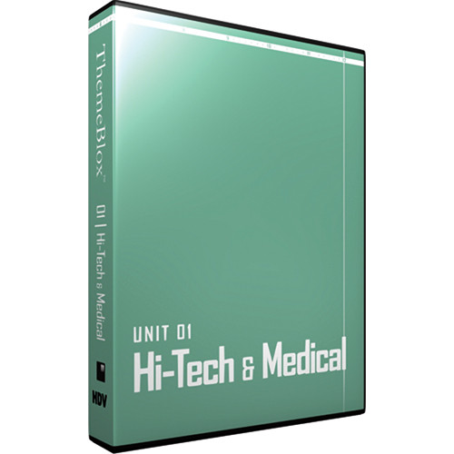 12 Inch Design ThemeBlox HDV Unit 01 - Hi-Tech and Medical