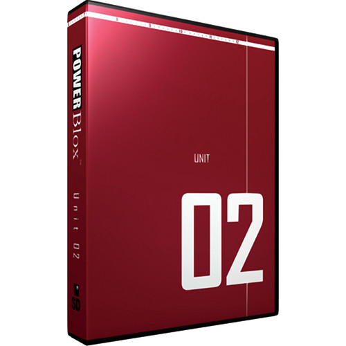 12 Inch Design PowerBlox Unit 02 - General Purpose Royalty-Free Animated and Static Motion Graphics Elements - NTSC - DVD