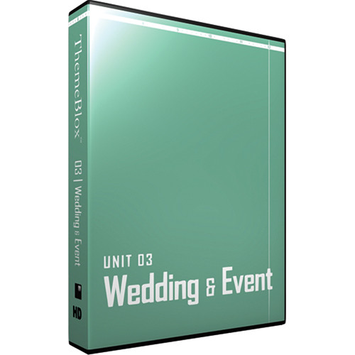 12 Inch Design ThemeBlox HD Unit 03 - Wedding & Events