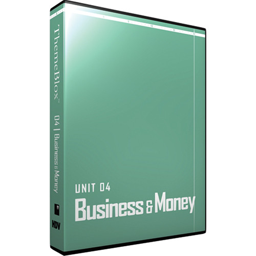 12 Inch Design ThemeBlox HDV Unit 04 - Business and Money