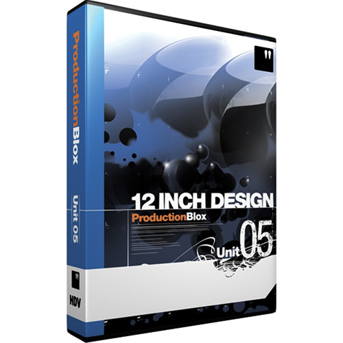 12 Inch Design ProductionBlox HDV Unit 05