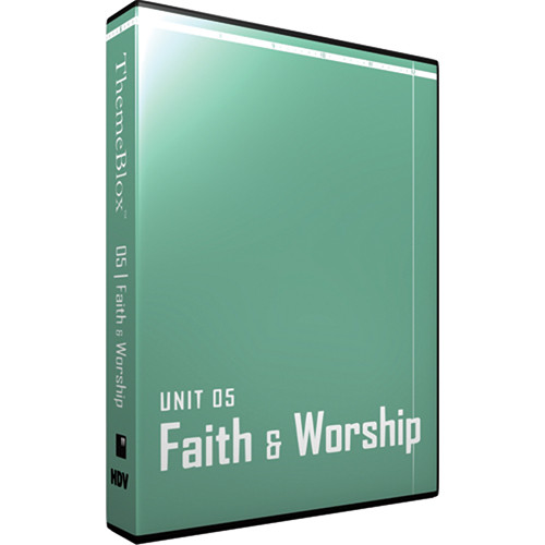 12 Inch Design ThemeBlox HDV Unit 05 - Faith and Worship