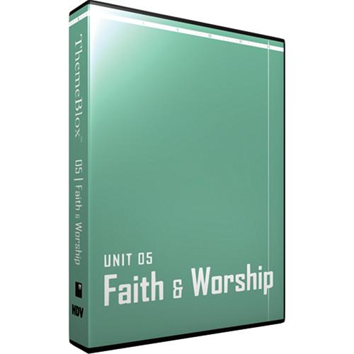 12 Inch Design ThemeBlox HDV Unit 05 - Faith and Worship