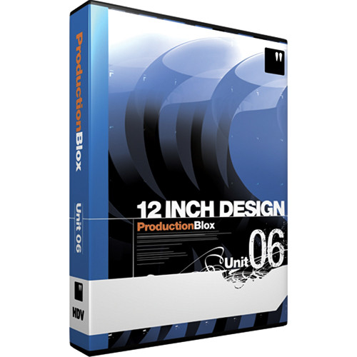 12 Inch Design ProductionBlox HDV Unit 06