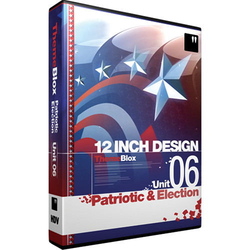 12 Inch Design ThemeBlox HDV Unit 06 - Patriotic and Election