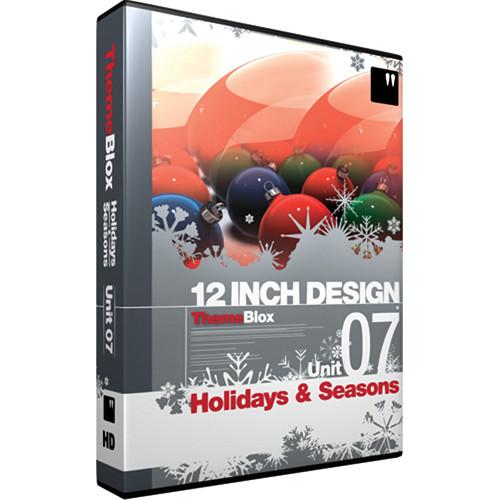 12 Inch Design ThemeBlox HD Unit 07 - Holidays and Seasons