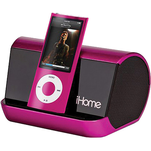 iHome iHM9 Portable Stereo System for iPod Black and MP3 Players iPhone