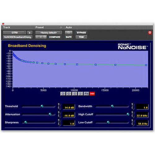 Digidesign Sonic NoNOISE - Audio Restoration Plug-In (TDM)