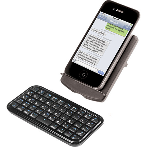 Ion Audio Itype Bluetooth Keyboard For Smartphones Itype B H