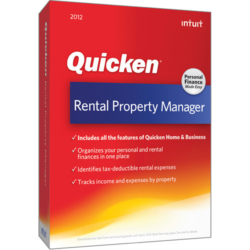 Quicken Home Business Rental Property 2020.Intuit Quicken Rental Property Manager 2012 Software