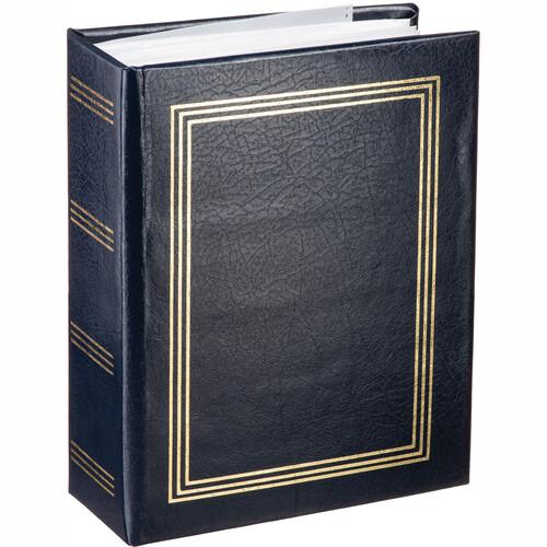 "4/"" x 6/"" Plain Photo Album with 100 Pockets Assorted Colours"