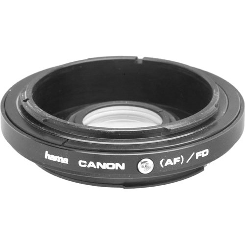 Hama Lens Adapter for Canon EOS to FD-AE HA-30845 B&H Photo Video