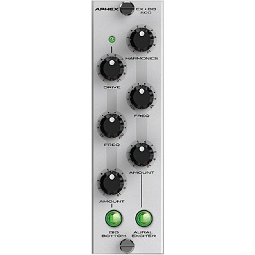 Aphex EX BB 500 - Aural Exciter and Big Bottom Processors (500 Series  Module)
